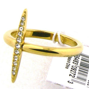 Michael Kors MK J3524 Ring Yellow Gold 8